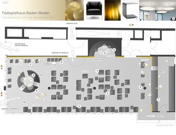 wettbewerb vip lounge festspielhaus baden baden raumkontor. Black Bedroom Furniture Sets. Home Design Ideas